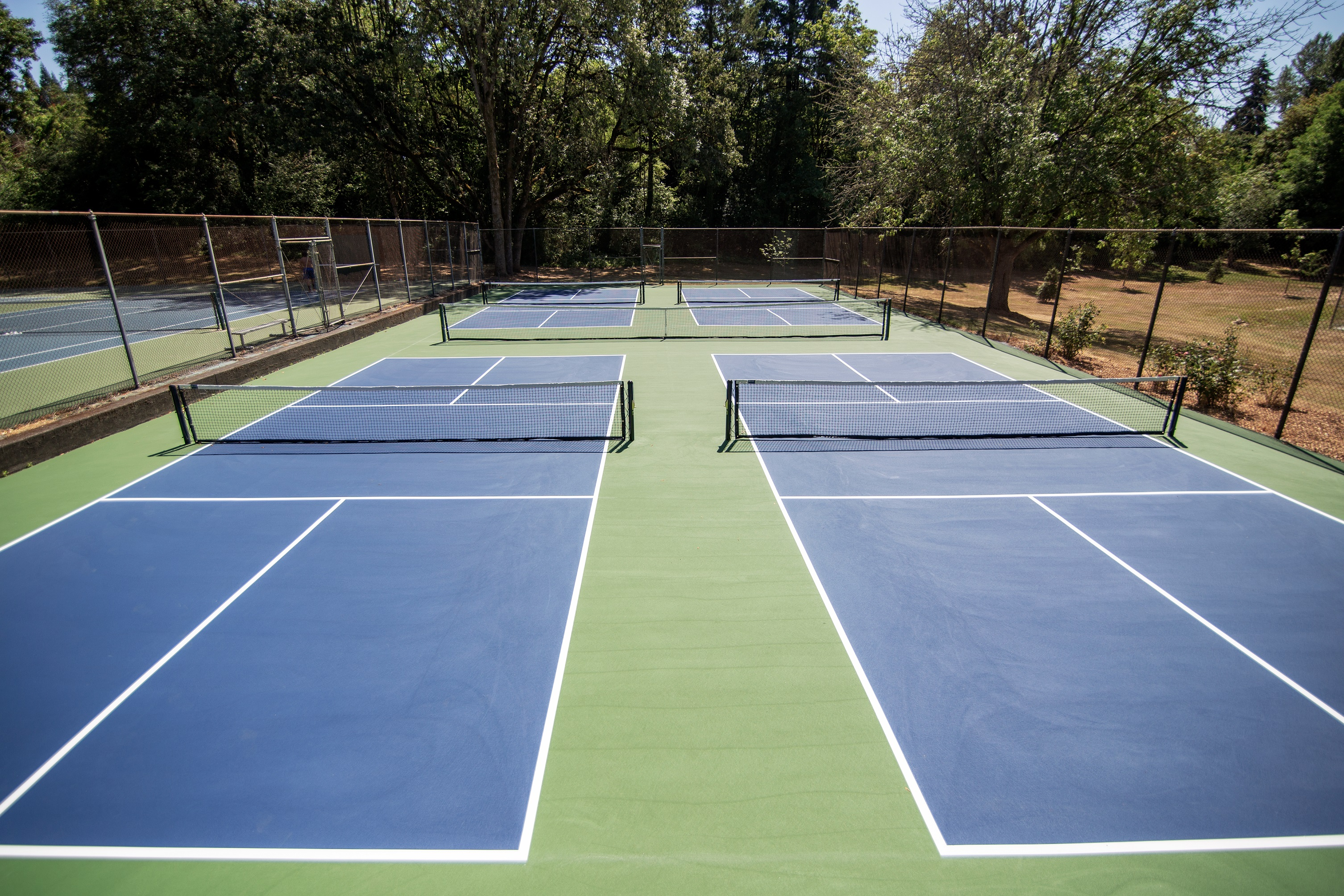 Pickleball courts at Raleigh Park!