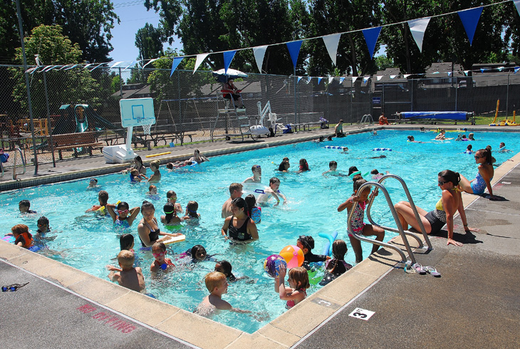 Whether you're learning an essential life skill, training, or simply enjoying a summer splash, THPRD provides plenty of opportunity at eight district pools.