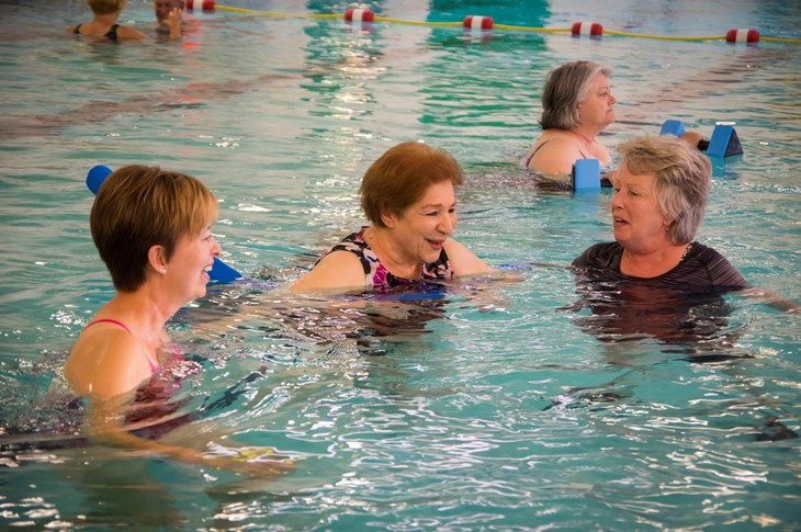 Healing Waters participants benefit from Harman's 89 degree water
