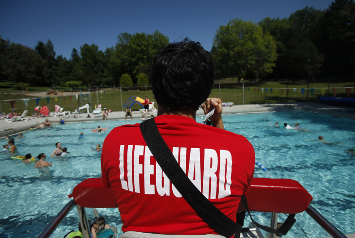 Work the water! Tualatin Hills lifeguards are some of the best in the Portland Area.
