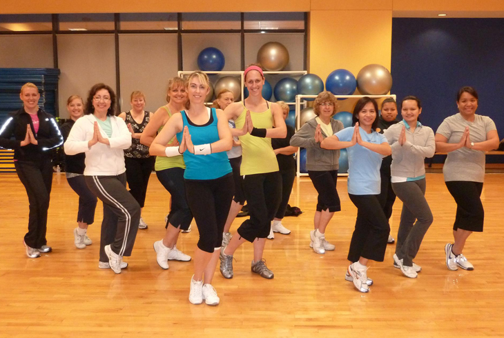 Conestoga has about 50 group fitness classes each week, including Total Body Conditioning, Yoga, Zumba, Cycling, Pilates, and more.