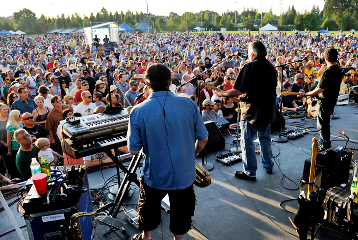 THPRD's annual Groovin' on the Grass show returns to the HMT Recreation Complex on Saturday, Aug. 19.