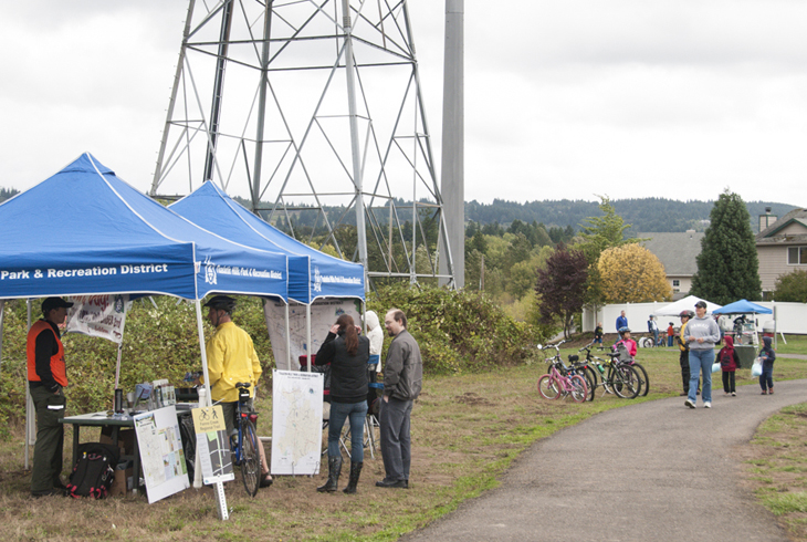 Sunday Trailways celebrates routes along the district's 60-mile trail network. The event will not be held in 2016.