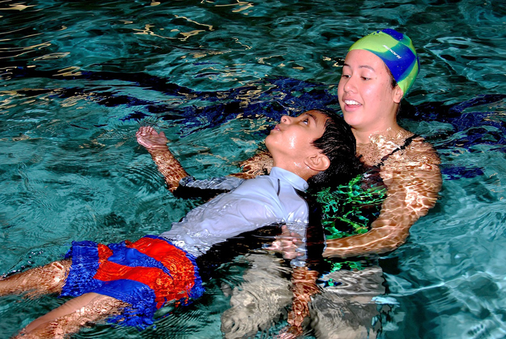 The district's Learn to Swim program teaches participants to swim to the best of their ability in a safe, fun and friendly environment.