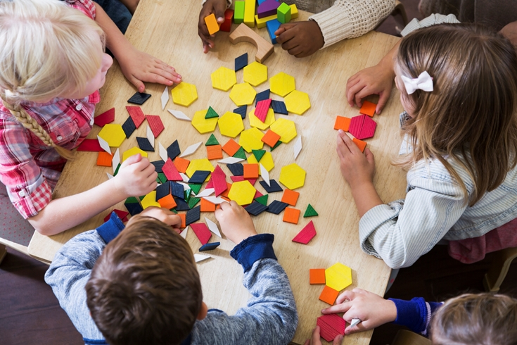 Our fun, play-based preschool setting allows children to develop age-appropriate social skills while learning to follow classroom routines. We offer preschool programs Monday through Thursday mornings from 9-11:30 am.