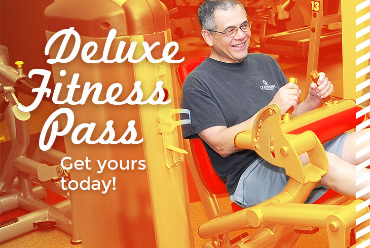 Get fit and get happy with the Deluxe Fitness Pass -- ON SALE NOW!