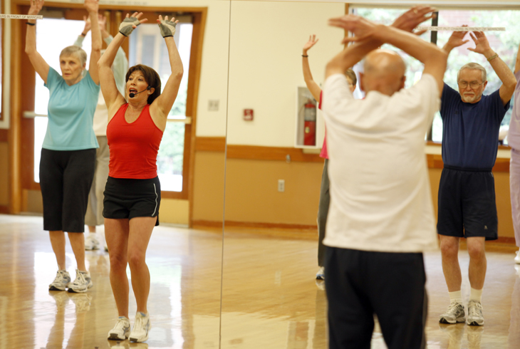 You can register for our great group fitness classes, or drop in as space permits.