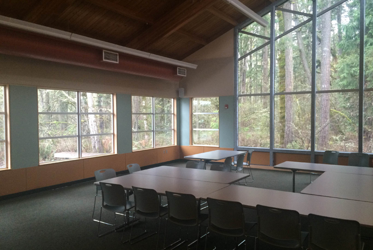 Tualatin Hills Nature Center is one of many THPRD facilities available for private room rentals.