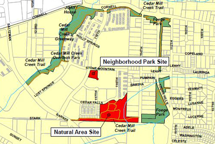 Names proposed for two Cedar Mill park sites