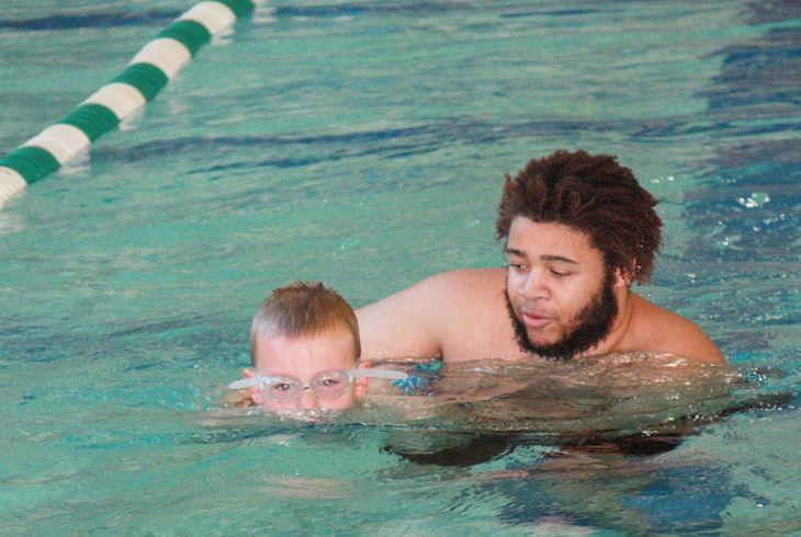 Daniel Howse is one of many THPRD instructors who participated in the district's junior lifeguard training program.