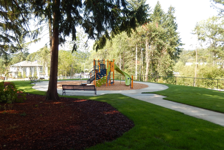 Newly-named Steeplechase Park in south Beaverton is one of three parks acquired from developers by THPRD.