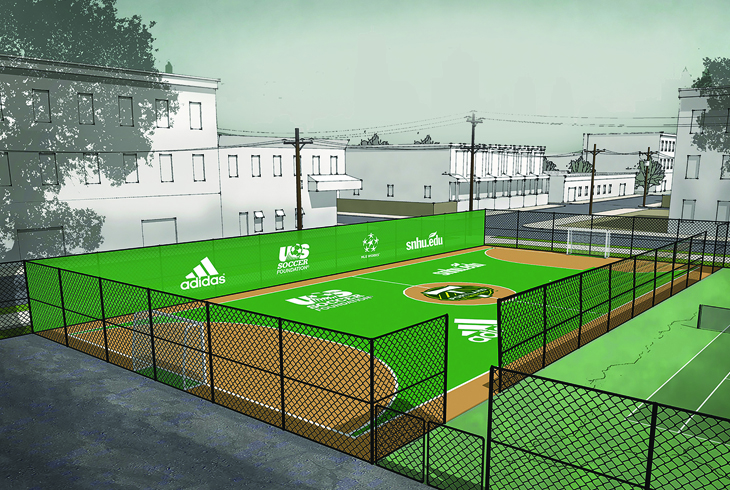 Futsal at Center Street Park?
