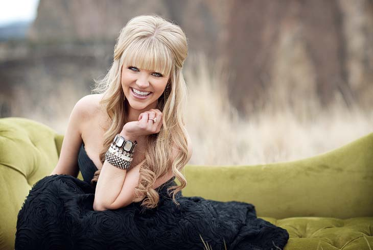 American Idol finalist Britnee Kellogg (Cedar Mill Park, Aug. 11) is among the performers appearing at THPRD's Concert & Theater in the Park series this summer.