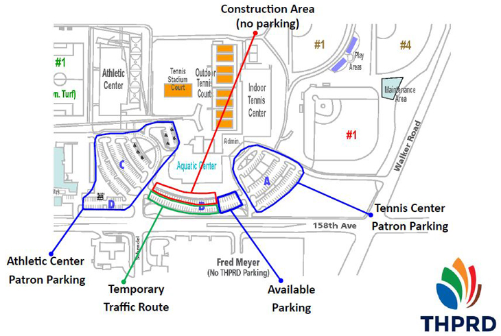 Aquatic Center construction to affect HMT Complex traffic