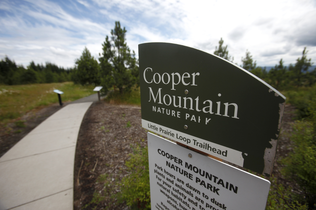Cooper Mountain Nature Park closed Wednesday-Friday