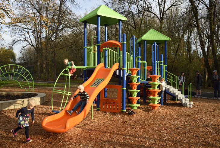 THPRD brings new play equipment, upgrades to McMillan Park