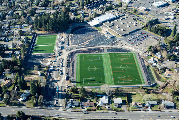 Mountain View Champions Park will include Oregon's first sports field designed to support play for kids and adults of all abilities.