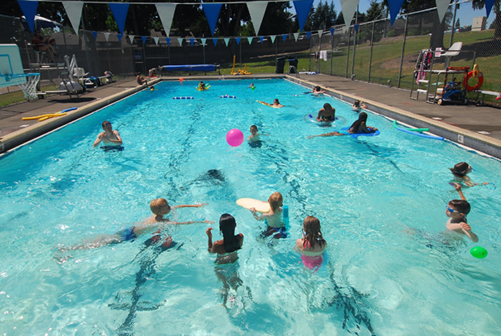 THPRD's outdoor pools at Somerset West Park (pictured) and Raleigh Park will open for the summer on Saturday, June 24.