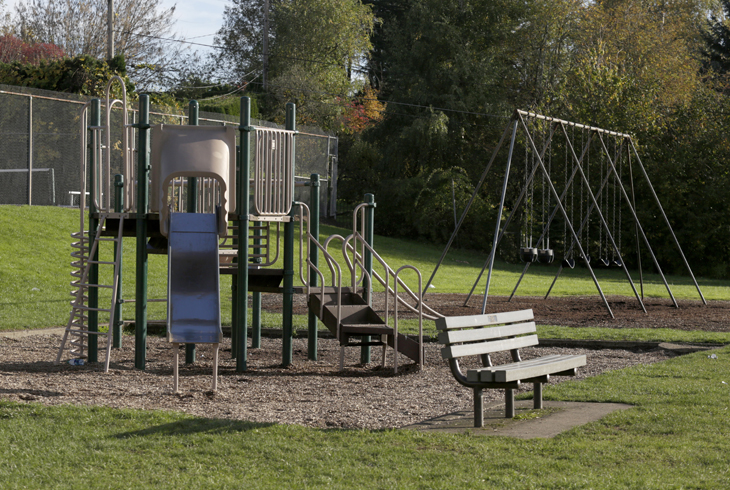 The play area at West Sylvan Park is scheduled to reopen this summer after public support for investment in repairs.