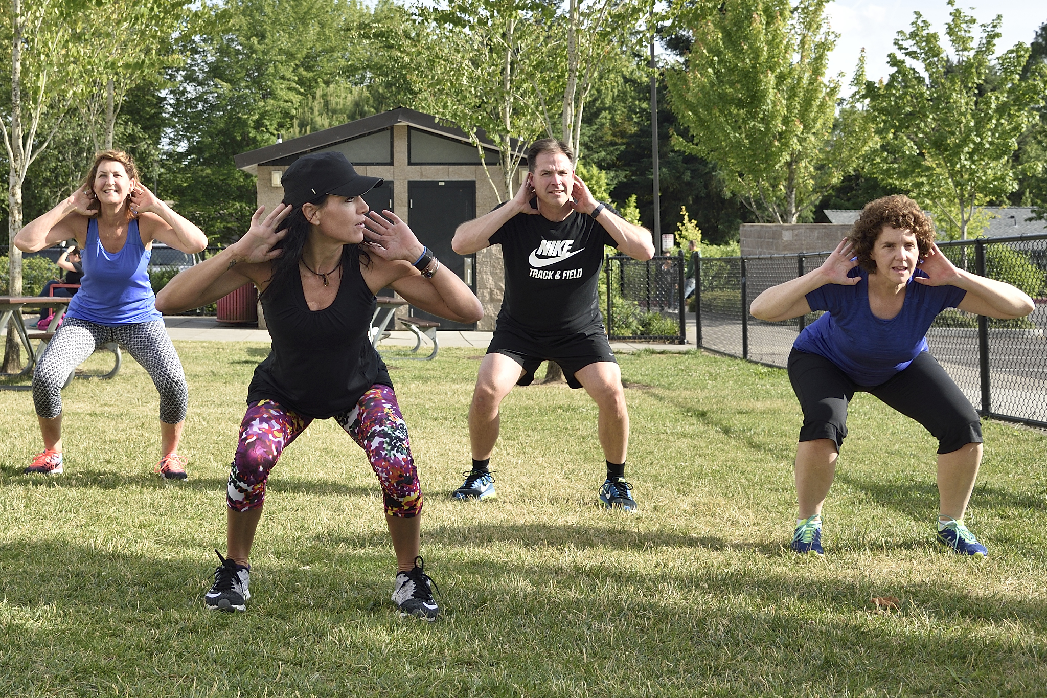 The new Fitness in the Park program is bringing group classes into THPRD parks all summer long.