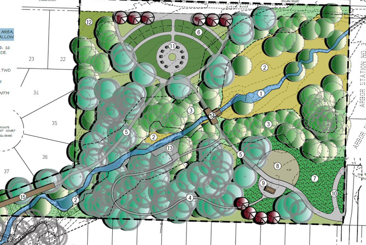 Master plan approved for expanded Crowell Woods park