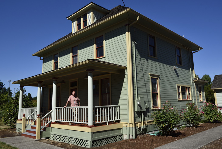 Historic house gets a fresh, new look