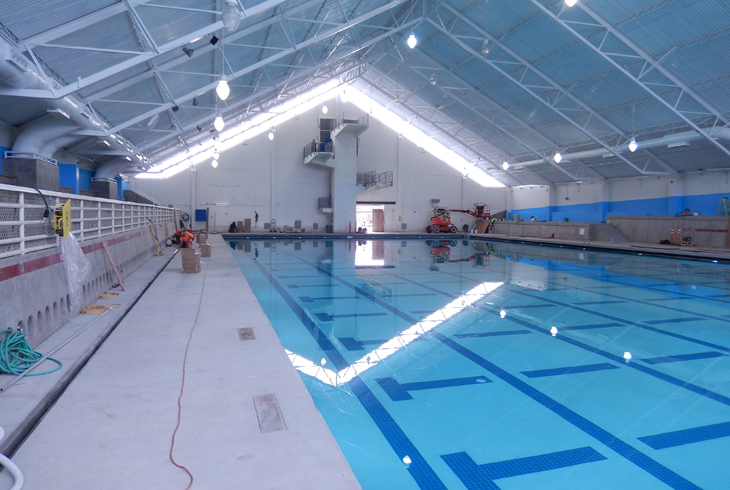 Refurbished Tualatin Hills Aquatic Center to reopen Jan. 16