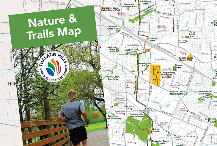 Grab your copy of the new Nature & Trails Map.