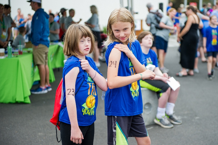 Youth, ages 8-26, unleash their inner athletes at the All Ability Tri4Youth.
