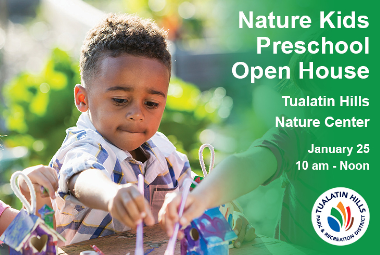 THPRD Announces Nature Kids Program Open House