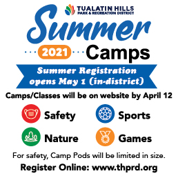 Summer Registration Opens Saturday, May 1