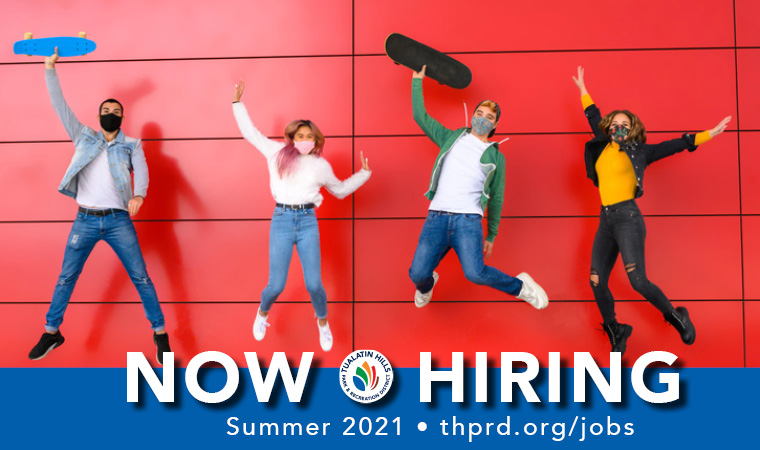 THPRD is Hiring for Summer!