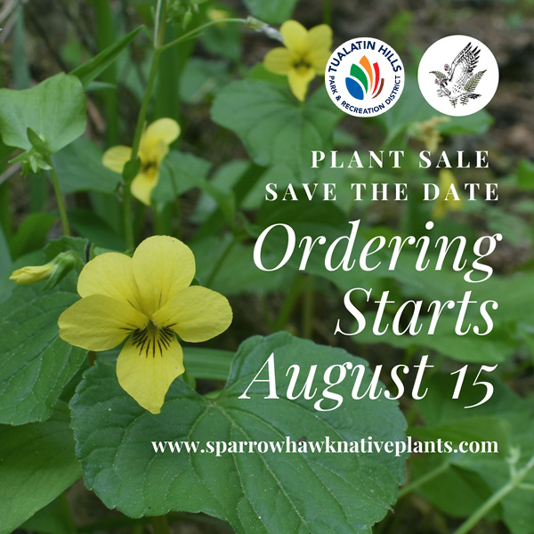 Save the Date for the Fall Native Plant Sale