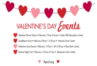 THPRD has Lots of Activities to Inspire Your Inner Valentine