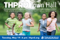 THPRD Virtual Town Hall Announced for May 19th