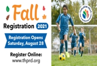Fall Registration Opens Saturday, August 28