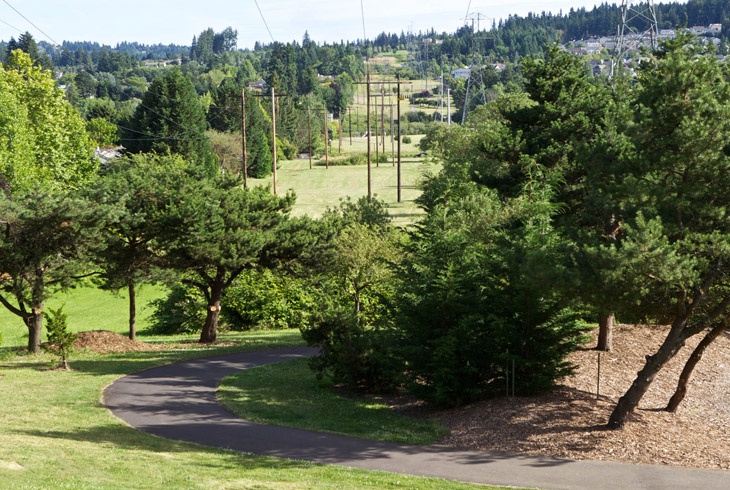 The Westside Regional Trail contributes to a regional trail network that provides recreational activities, commuter routes and access to 84 different THPRD sites.