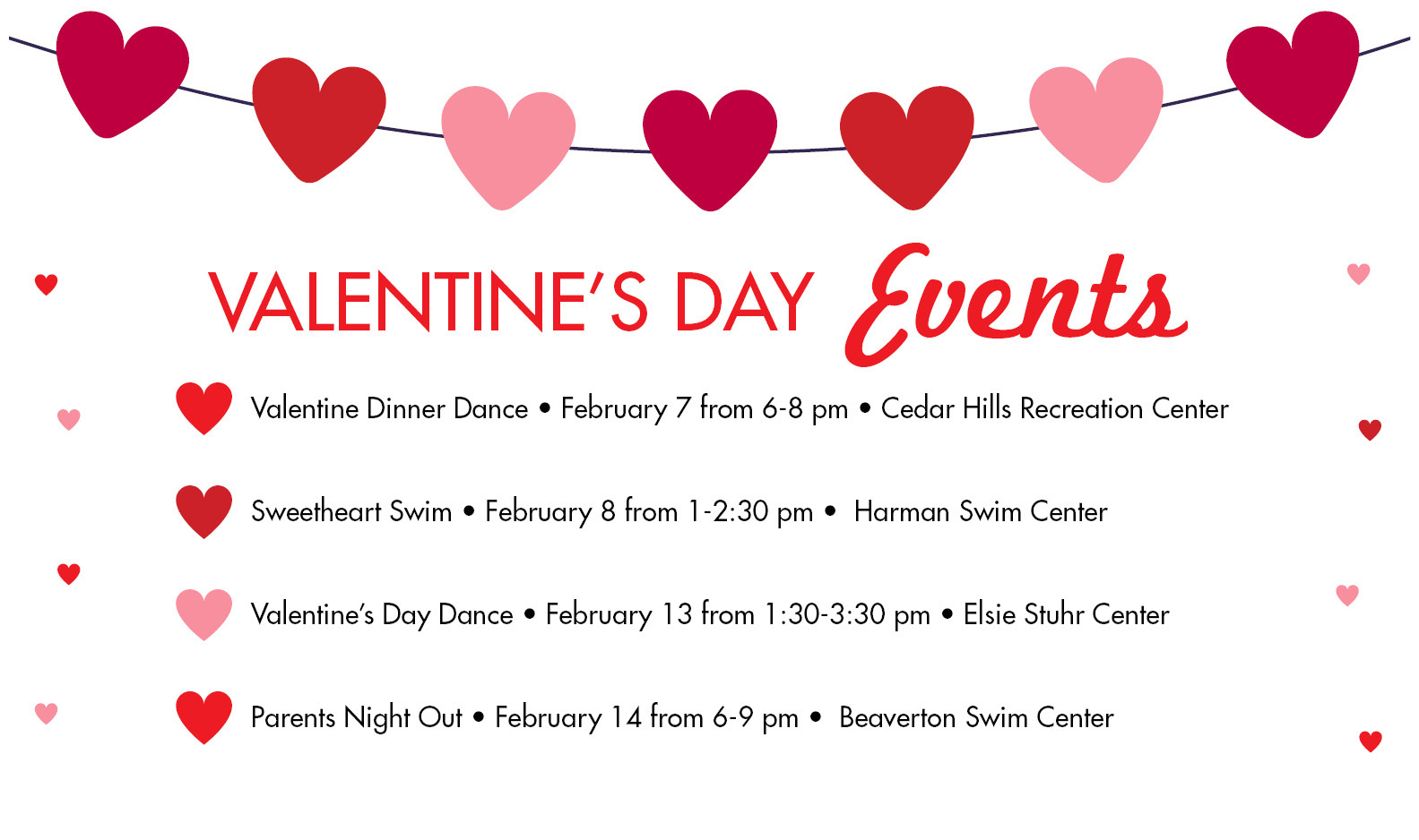 Valentine's Day - Special Events