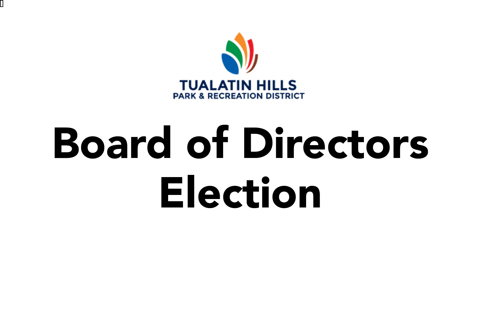 Upcoming Election - Board of Directors