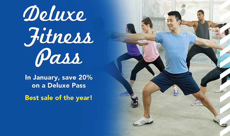 Deluxe Pass Deal - Take 20% off in January