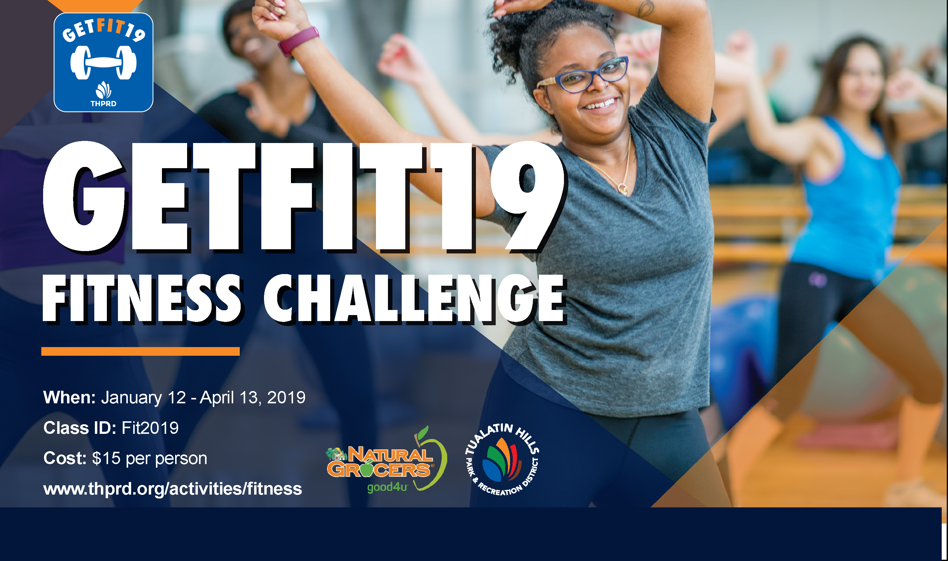 GetFit19 - Join Our Fitness Challenge