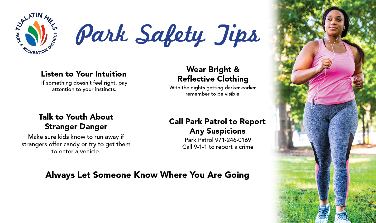 Stay Safe in the Park - with These 5 Tips