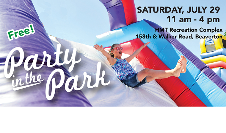Party in the Park - Saturday, June 29