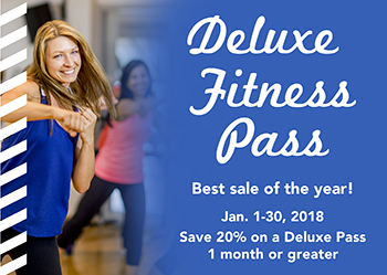 Save 20% on purchase of a delulxe pass between January 1 and January 30.