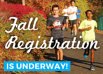 Register for classes today! Fall term sign-up available now.